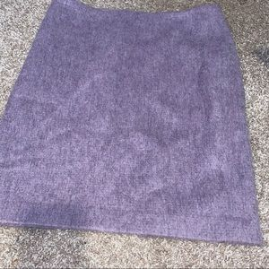 Talbots lavender spring pencil skirt 6 lined wool
